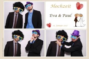Design 22 - 3 Bilder Hochzeitspaar mit Herz