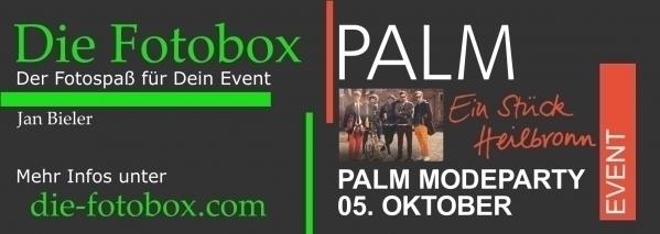 Fotobox Modeparty Modehaus Palm in Heilbronn