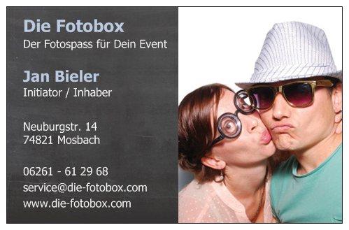 Die Fotobox auf der Wedding-Welt